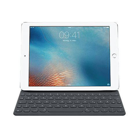 Apple Smart Keyboard Deutsch Anthrazit iPad Pro 9,7