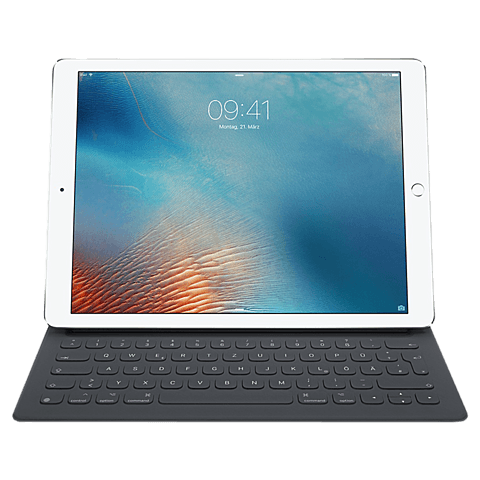 Apple Smart Keyboard Deutsch Anthrazit iPad Pro 12,9