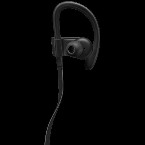 Beats Powerbeats3 Wireless In-Ear Bluetooth-Kopfhörer Schwarz 99925718 hinten
