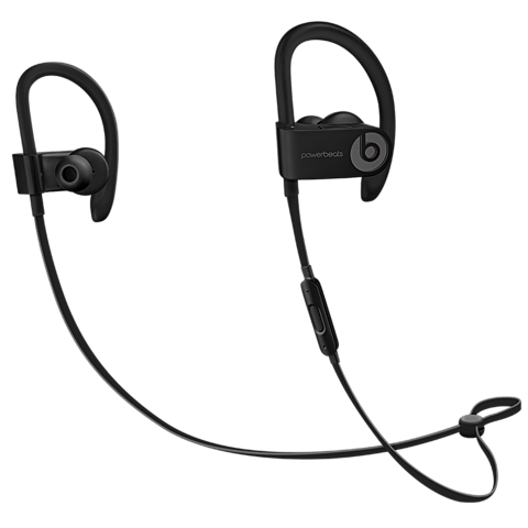 Beats Powerbeats3 Wireless In-Ear Bluetooth-Kopfhörer Schwarz 99925718 vorne