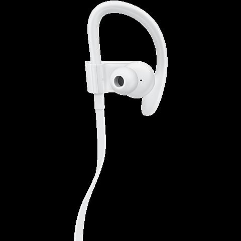 Beats Powerbeats3 Wireless In-Ear Bluetooth-Kopfhörer Weiß 99925719 hinten