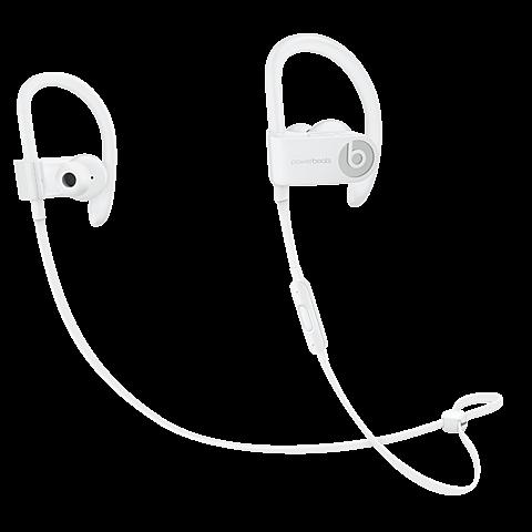 Beats Powerbeats3 Wireless In-Ear Bluetooth-Kopfhörer Weiß 99925719 vorne