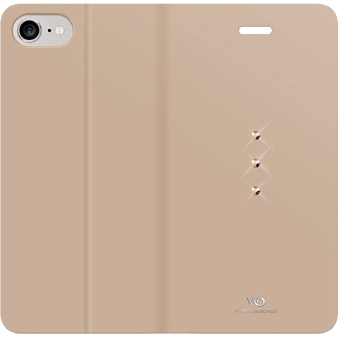 White Diamonds Crystal Booklet iPhone 7 gold hinten 99925334