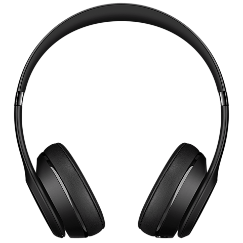 Beats Solo3 Wireless On-Ear Bluetooth-Kopfhörer Schwarz 99925739 vorne