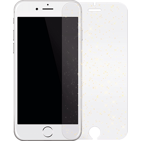 White Diamonds Sparkling Glass Apple iPhone 6s gold vorne 99925354