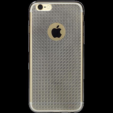 Diamond Cover Crystal Grau Apple iPhone 6/6s 99925602 hinten