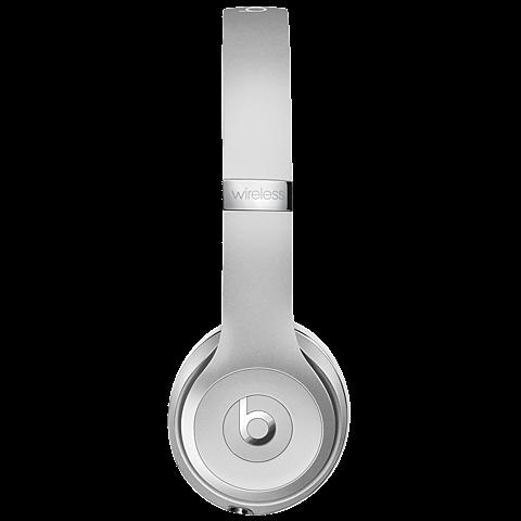 Beats Solo3 Wireless On-Ear Bluetooth-Kopfhörer Silber 99925742 seitlich