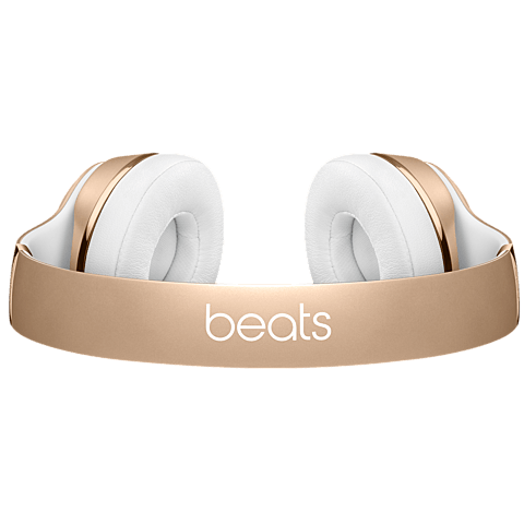 Beats Solo3 Wireless On-Ear Bluetooth-Kopfhörer Gold 99925743 hinten