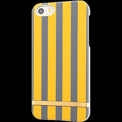Richmond & Finch Stripes Cover iPhone SE mustard hinten 99925615