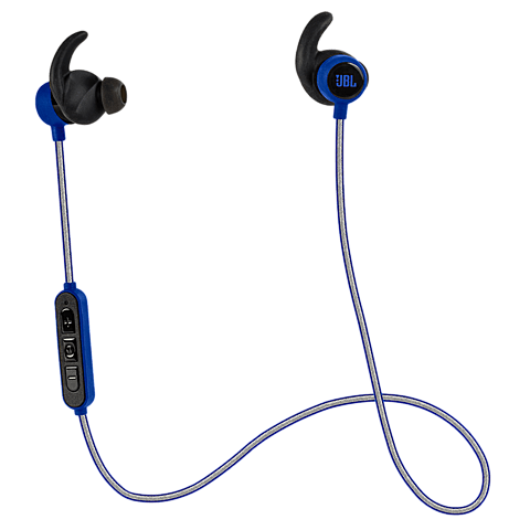JBL Reflect Mini BT In-Ear Bluetooth-Sportkopfhörer Blau 99925496 vorne