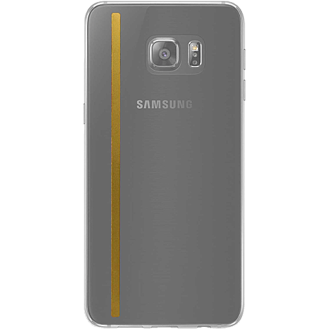 Diamond Cover 24 Karat Stripe Samsung Galaxy Ss7 edge grau hinten 99925592