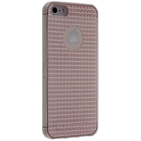 Diamond Cover Crystal Grau Apple iPhone SE 99925596 seitlich