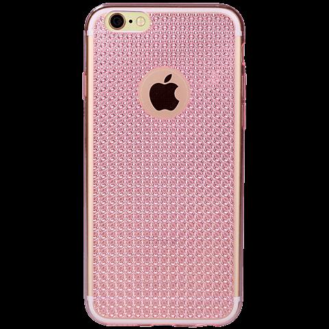 Diamond Cover Crystal Pink Apple iPhone 6/6s 99925601 hinten