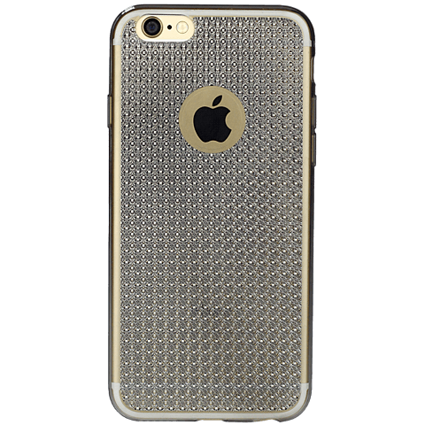 Diamond Cover Crystal Grau Apple iPhone 7 99925608 hinten