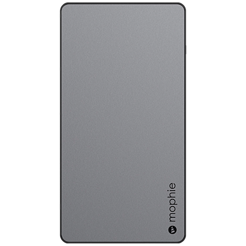 Mophie Powerstation XL 10000mAh grau vorne 99925710