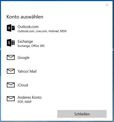 Windows 9 Mail E-Mail-Konto einrichten  Telekom Hilfe
