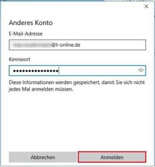 Windows 10 Mail E Mail Konto Einrichten Telekom Hilfe