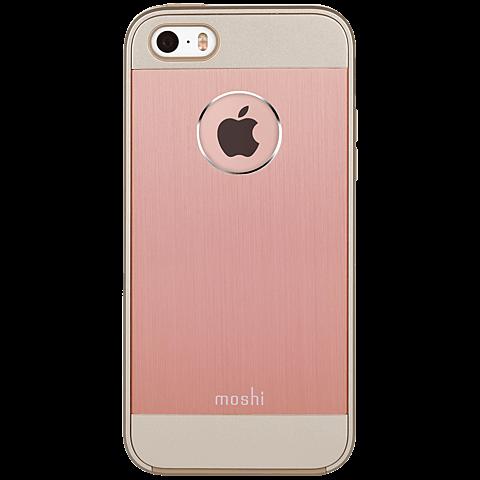 Moshi Cover iGlaze Armour iPhone SE rosegold hinten 99925484