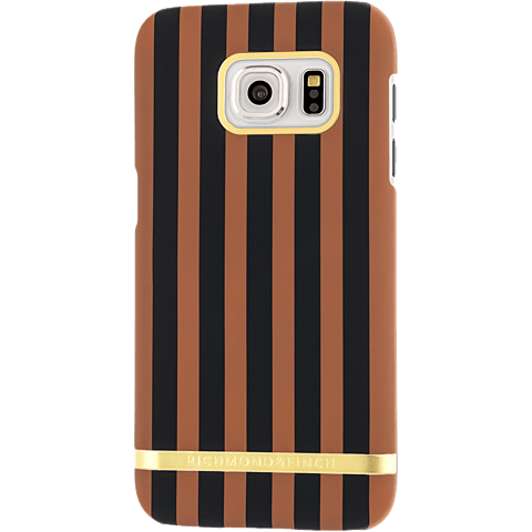Richmond Finch Cover Stripes Samsung S7 edge chocolate stripes braun hinten 99925650