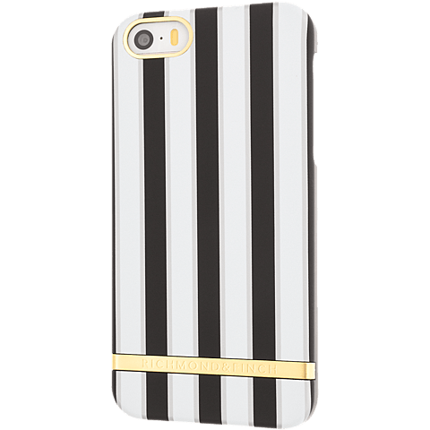 Richmond & Finch Stripes Cover iPhone SE sand hinten 99925641