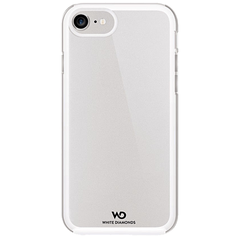 White Diamonds Essential Clear Case iPhone 7 weiss hinten 99925319