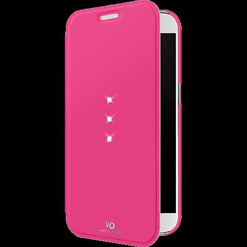 White Diamonds Crystal Booklet Samsung Galaxy S7 pink vorne 99925337