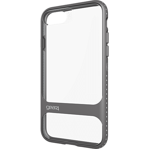 gear4 Cover Soho iPhone 7 silber seitlich 99925478