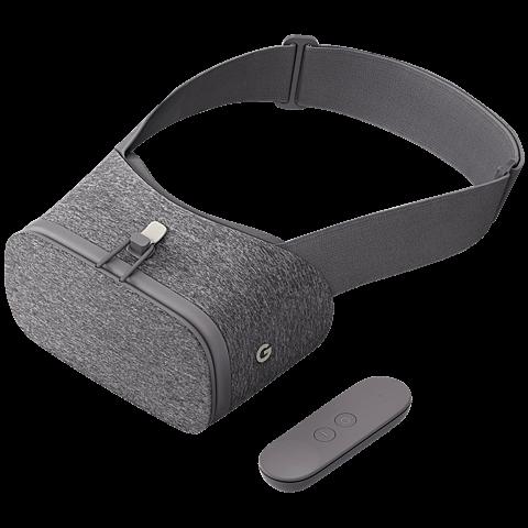 Google Daydream View VR-Headset Schiefergrau 99925773 vorne