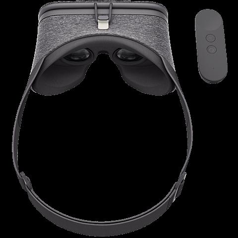 Google Daydream View VR-Headset Schiefergrau 99925773 hinten