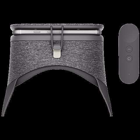 Google Daydream View VR-Headset Schiefergrau 99925773 hinten2