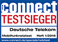 Connect: Testsieger Mobilfunknetztest Heft 1/2016