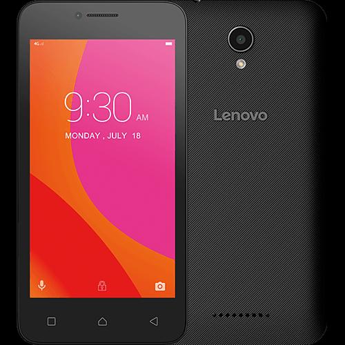Lenovo B schwarz vorne und hinten