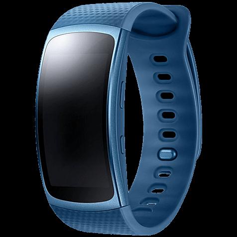Samsung Gear Fit2 Armbandgröße S Blau 99925882 hero
