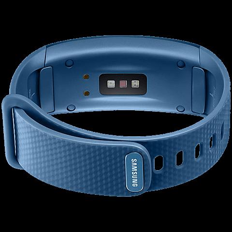 Samsung Gear Fit2 Armbandgröße S Blau 99925882 hinten