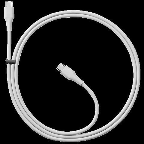 Google Verbindungskabel USB-C zu USB-C Grau 99925770 hinten