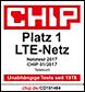 CHIP Netztest: Bestes LTE-Netz 2017