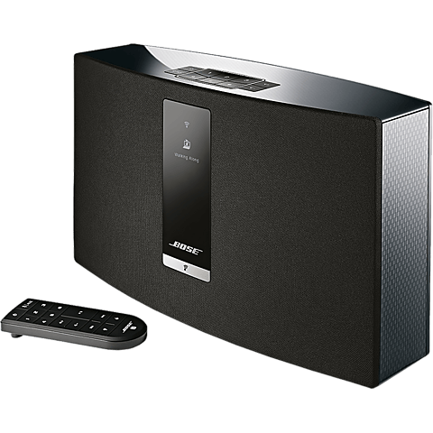 BOSE SoundTouch 20 Series III Wireless Music System Schwarz 99925373 seitlich