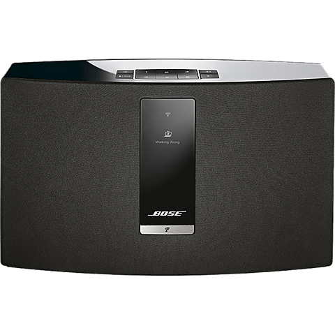 BOSE SoundTouch 20 Series III Wireless Music System Schwarz 99925373 vorne