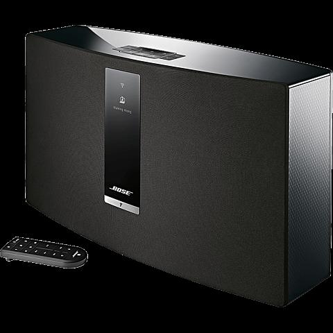 BOSE SoundTouch 30 Series III Wireless Music System Schwarz 99925388 seitlich