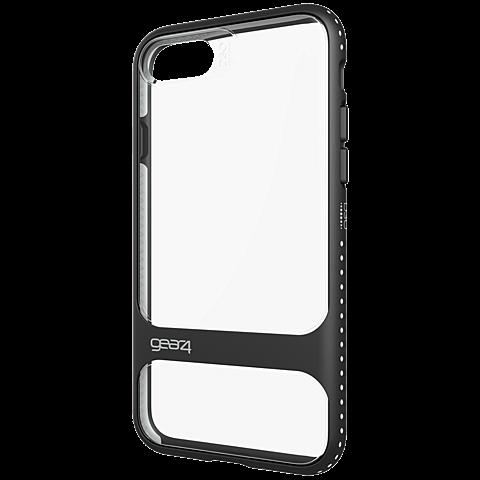 gear4 Cover Soho iPhone 7 schwarz seitlich 99925479