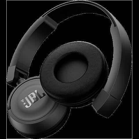 JBL T450 Bluetooth On Ear Kopfhörer schwarz hinten 99925756