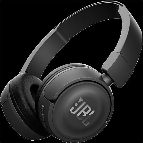 JBL T450 Bluetooth On Ear Kopfhörer schwarz seitlich 99925756