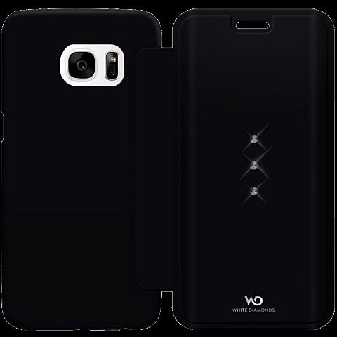 White Diamonds Crystal Booklet Samsung Galaxy S7 edge schwarz hinten 99925341