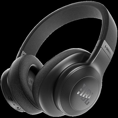 JBL E55-BT Over Ear Bluetooth Kopfhörer schwarz vorne 99925734