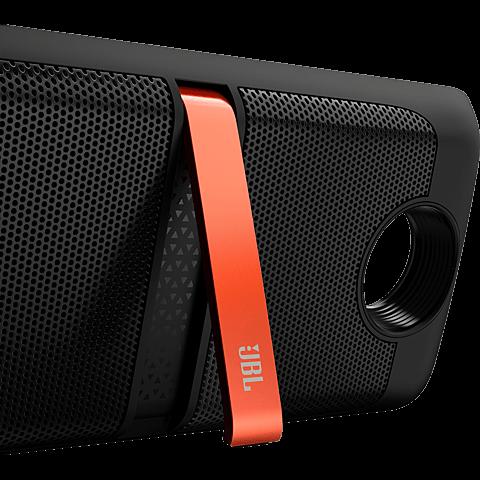 Lenovo Moto Mods JBL SoundBoost Speaker Schwarz 99925900 seitlich
