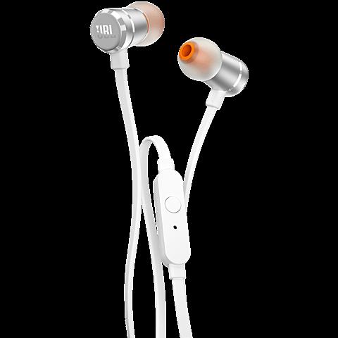 JBL T290 In Ear Kopfhoerer silber vorne 99925763