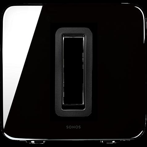 Sonos Sub Wireless Subwoofer Hochglanz schwarz hero 99925937