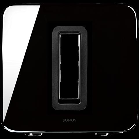 Sonos Sub Wireless Subwoofer Hochglanz schwarz vorne 99925937