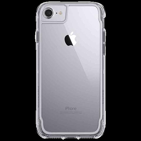 Griffin Survivor Clear Grau Apple iPhone 7 99925136 hinten