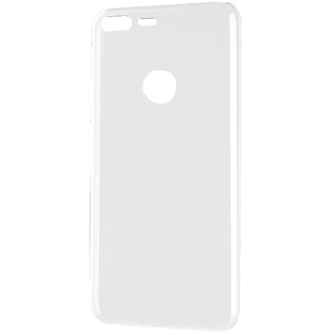 Xqisit iPlate Cover Google Pixel transparent seitlich 99925871